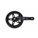 KMX Chainwheel 38 Z. with bashring for K-3